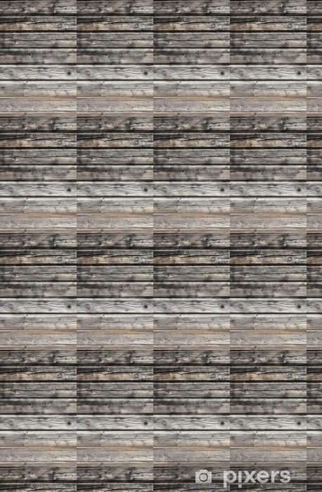 Papier peint vinyle sur mesure Fond en bois - Textures