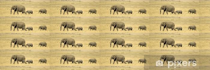 African Elephant Masai Mara Kenya Wallpaper Vinyl Custom Made
