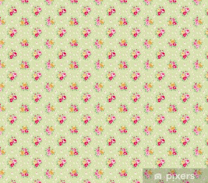 Tapete Rosen-Muster - nach Maß