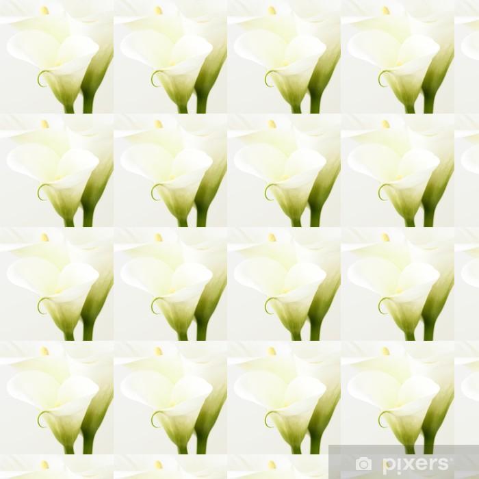 Papier peint vinyle sur mesure Lis calla - Fleurs