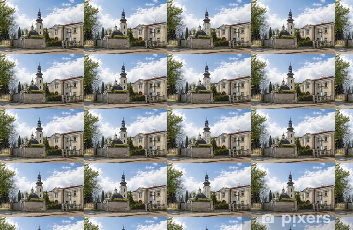Papier peint vinyle sur mesure Église de Saint-Nicolas à Zamosc - Europe