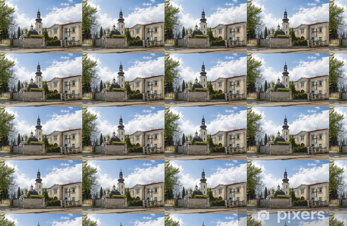 Tapeta na wymiar winylowa Kościół św Mikołaja w Zamościu - Europa