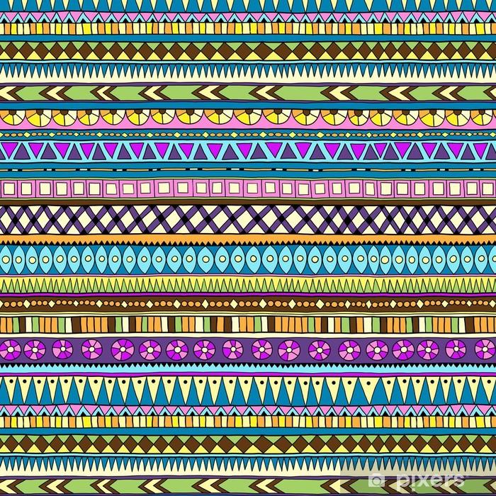 Vinylová Tapeta Původní kmenové hračka etnické bezešvé vzor. - Styly