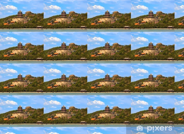 The Summer Palace in Beijing, China Vinyl custom-made wallpaper - Asian Cities