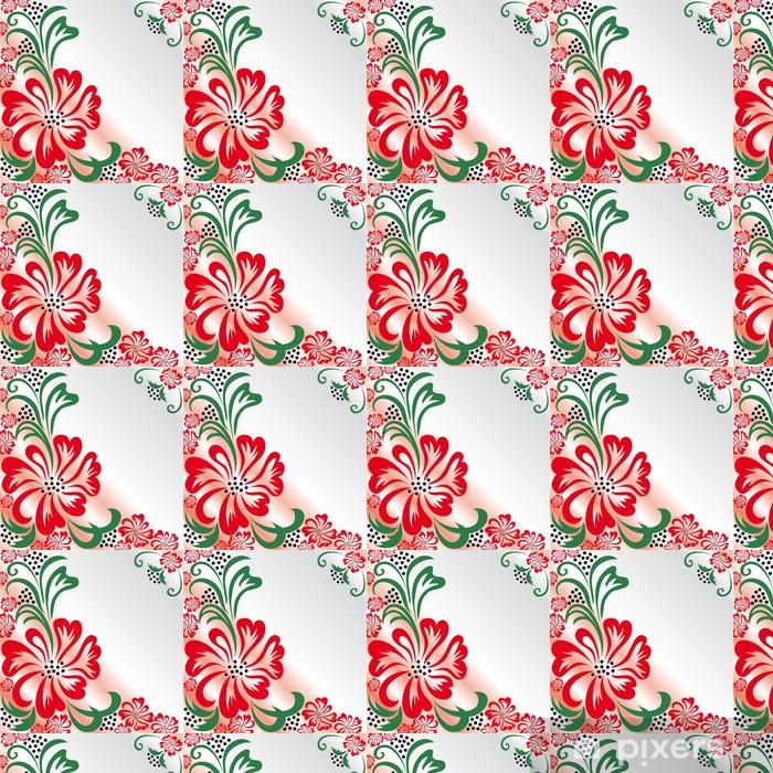 Flower greeting card Vinyl Custom-made Wallpaper - Backgrounds