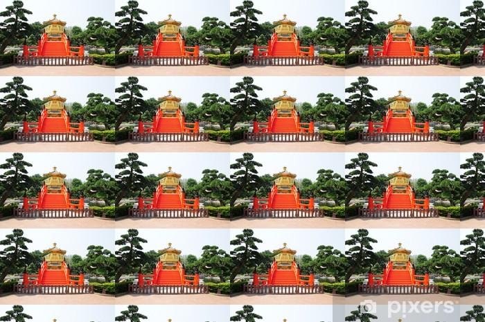 Tapeta na wymiar winylowa Chiński pawilon w stylu - Criteo