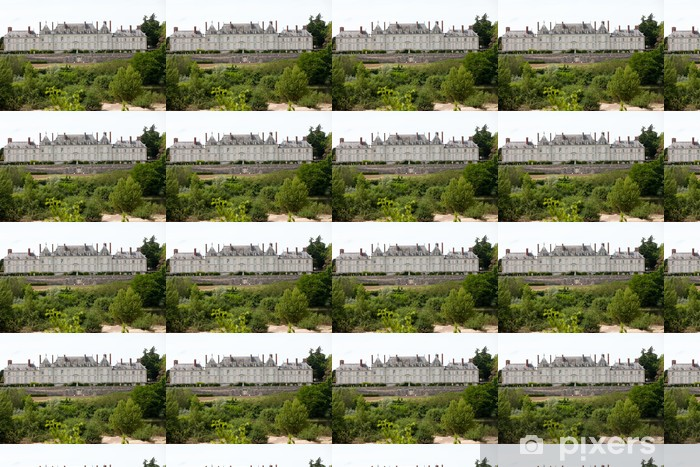 Spesialtilpasset vinyltapet Chateau de Menars. Loire-dalen, Frankrike - Europa