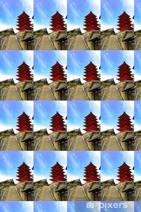 Papier peint vinyle sur mesure 宮 島 の 五 重 塔 と 豊 国 神社 - Asie