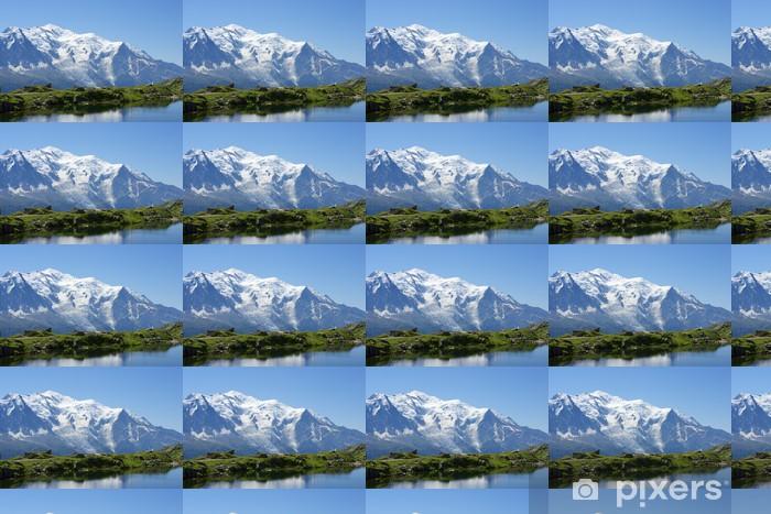 Vinylová tapeta na míru Mont Blanc - Francie