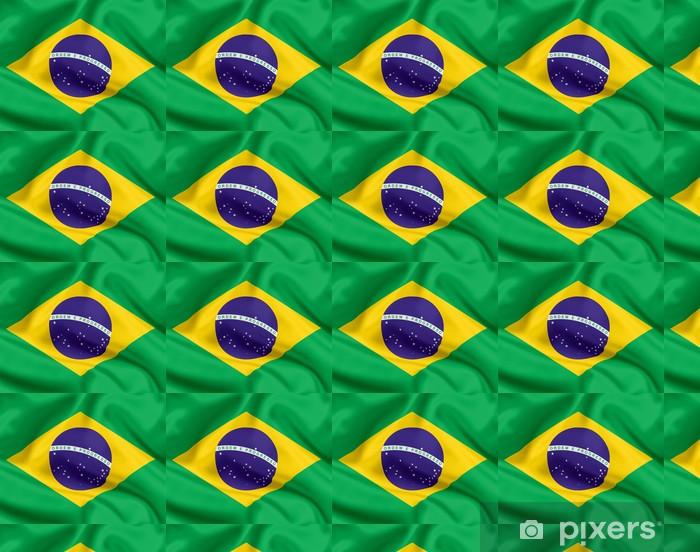 Tapeta na wymiar winylowa Flaga Brazylii - Tematy