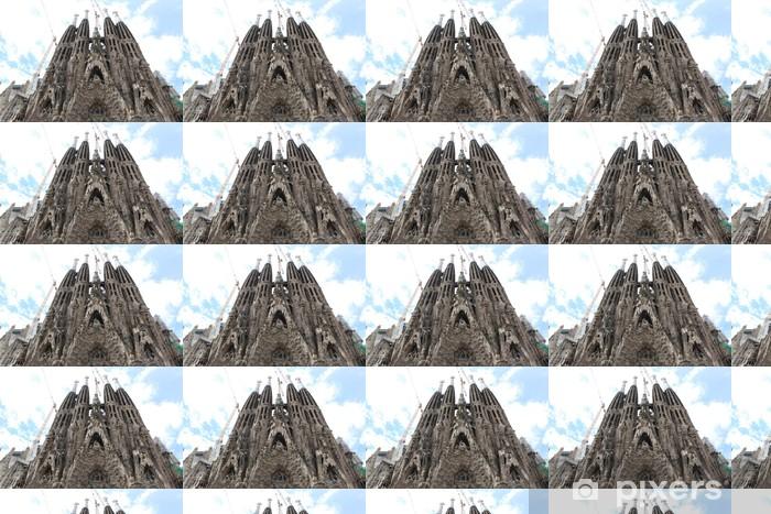 Papier peint vinyle sur mesure La Sagrada Familia - l'impressionnante ca - Autres
