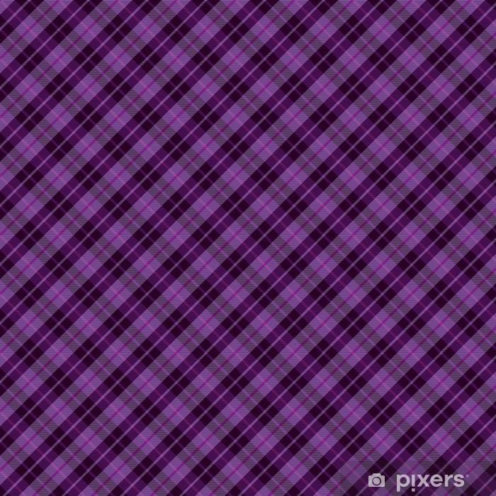 Papel pintado estándar a medida Tartán púrpura a cuadros patrón de fondo sin fisuras - Texturas