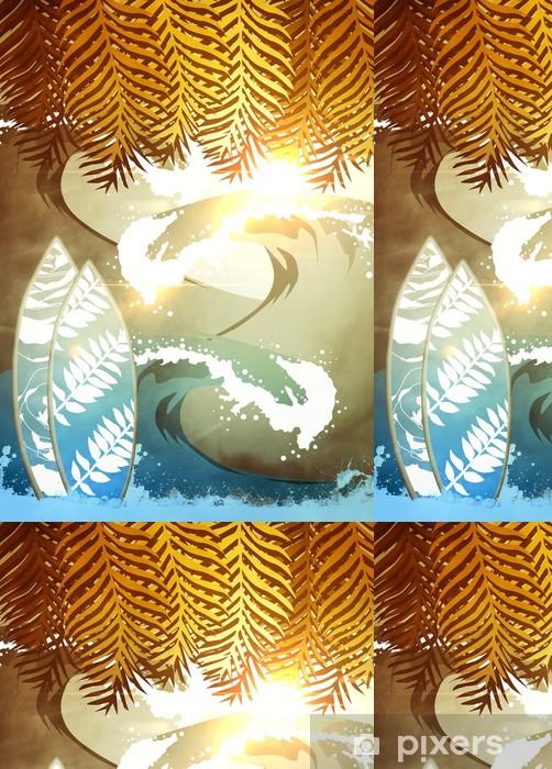 Vinylová Tapeta Surf pozadí - Vodní sporty