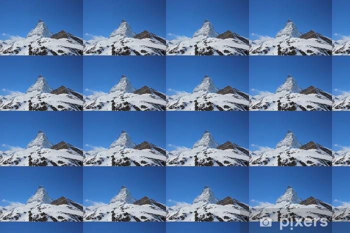 Tapeta na wymiar winylowa Piękna snosnow ograniczona Matterhorn - Góry