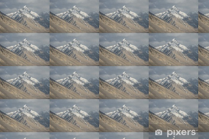 F. Everest, the highest peak in the world. Vinyl Custom-made Wallpaper - Themes