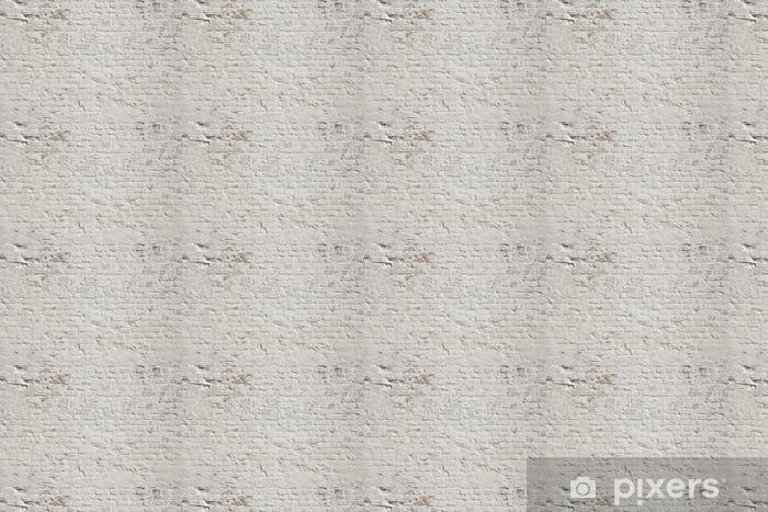 Tapeta na wymiar winylowa Białe grunge ceglany mur w tle - Style