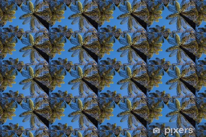 Papel pintado estándar a medida Helechos gigantes que crecen en la selva tropical - Plantas