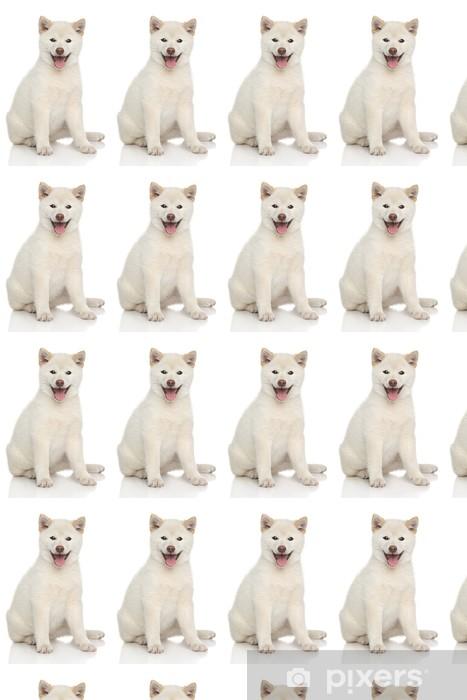 Papier peint vinyle sur mesure Happy portrait de chien - Mammifères