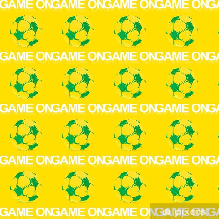 Vinyltapete nach Maß Künstlerische Fußball - Freiluftsport