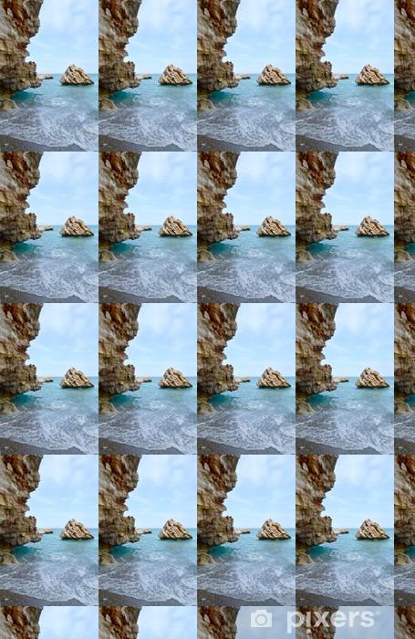 Vinyltapete nach Maß Meeresstrand - Wasser