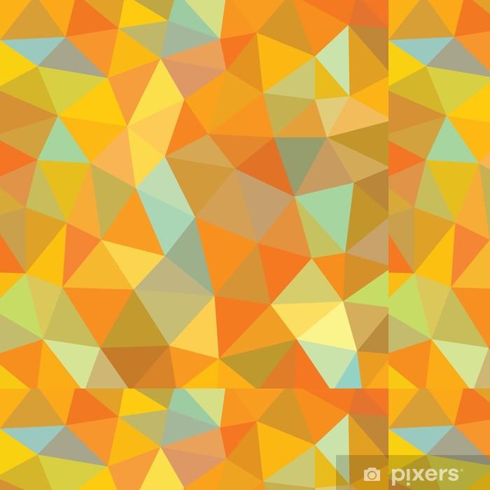 Vinylová Tapeta Abstraktní geometrické pozadí - vektor vzor - Geometrie