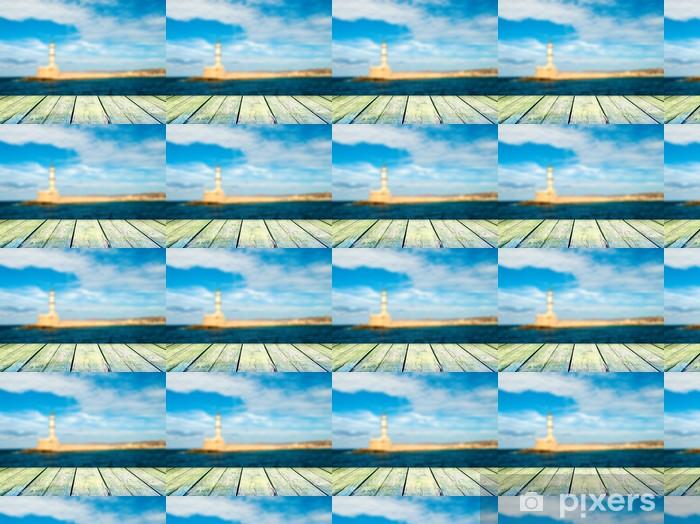 Papier peint vinyle sur mesure Idyllique paysage marin - Concepts