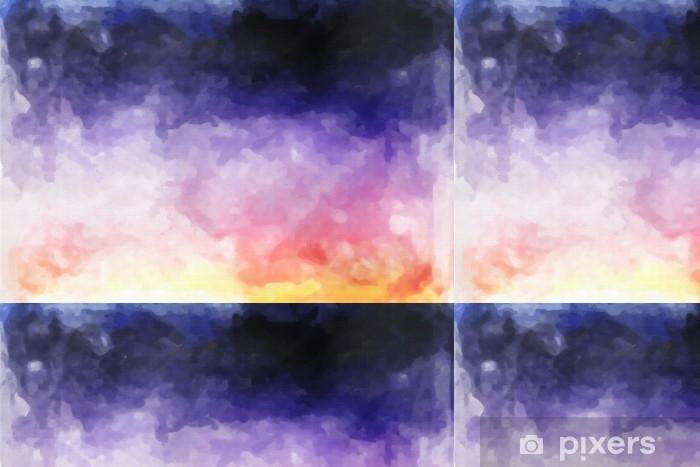 Vinylová Tapeta Abstraktní akvarel textury - Umění a tvorba