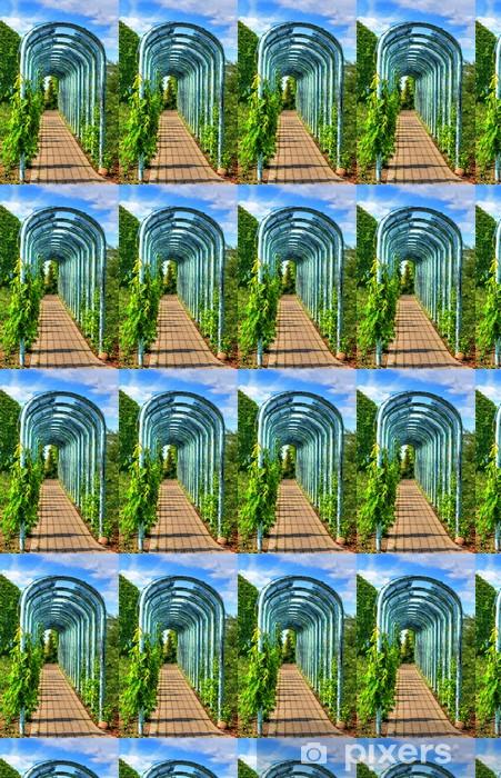Tapeta na wymiar winylowa Aleja w ogrodzie - Budynki użyteczności publicznej