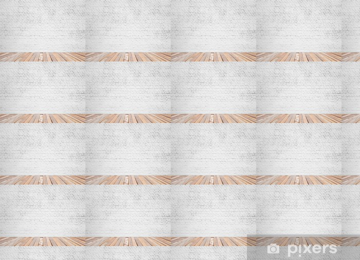 Vinyl behang, op maat gemaakt Bakstenen muur - Achtergrond