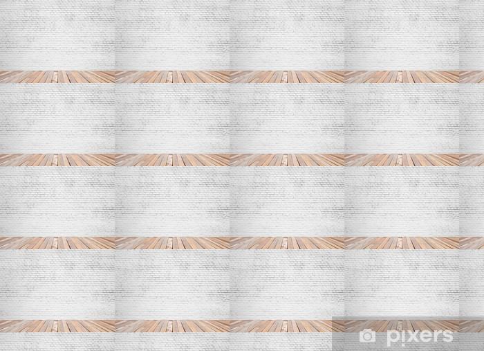 Måttanpassad vinyltapet Tegelvägg - Bakgrunder