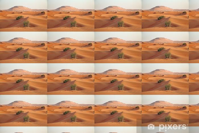 Papier peint vinyle sur mesure Sable rouge du désert - Désert
