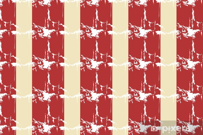 Tapeta na wymiar winylowa Peru grunge flag. ilustracji wektorowych - Tła