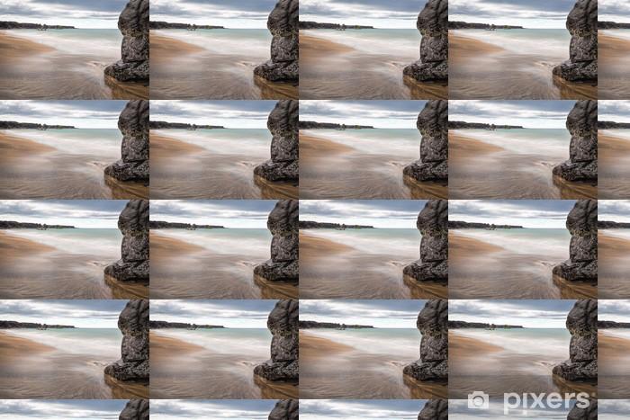 Papier peint vinyle sur mesure Islandais plage - Europe