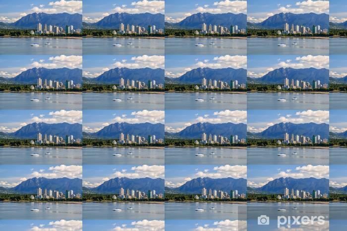 Papier peint vinyle sur mesure Le West End de Vancouver - Paysages urbains