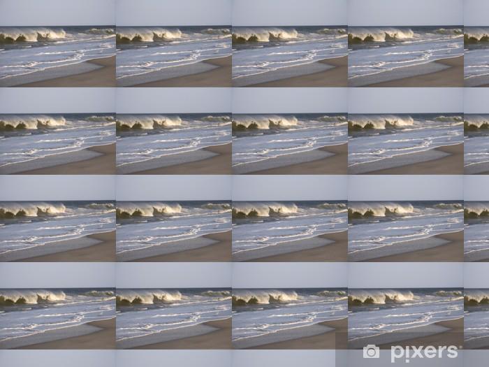 Vinyltapete nach Maß Leistungsschalter Wellen - Wasser