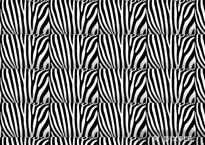 Tapeta na wymiar winylowa Zebra - Pokój