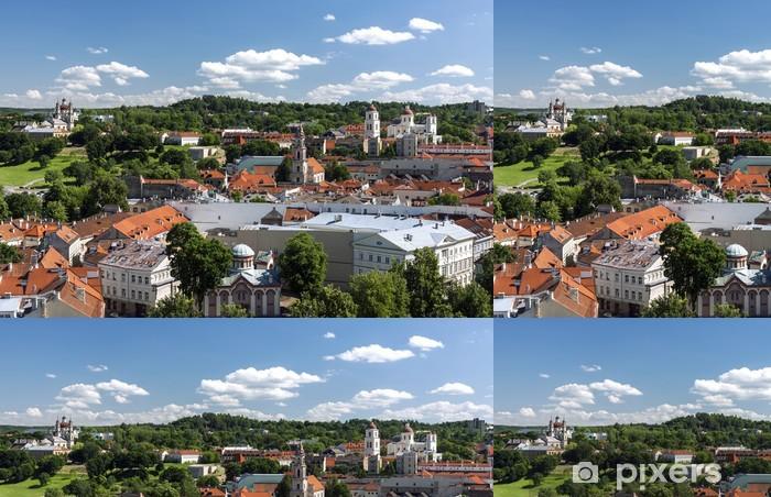 Vinylová Tapeta Vilnius Staré Město pnorama - Evropa