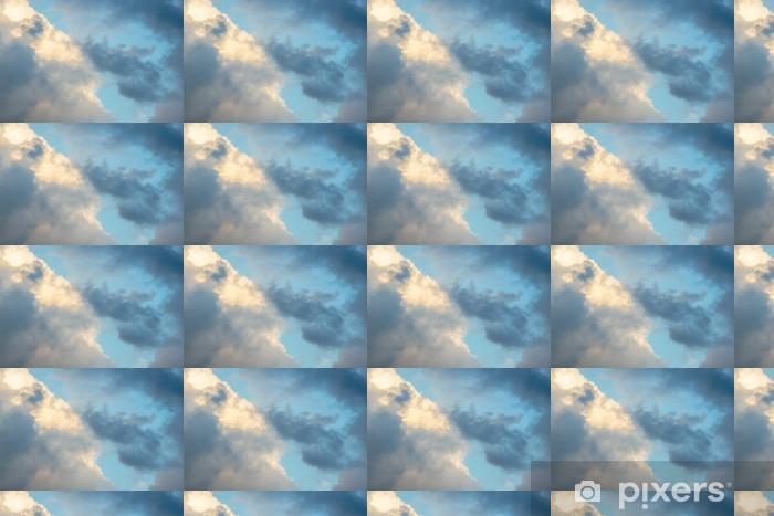 Vinyl behang, op maat gemaakt Regenachtige Wolken voor de komende storm - Thema's