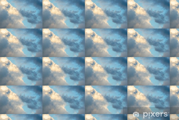 Rainy Clouds Before Storm Coming Vinyl custom-made wallpaper - Themes