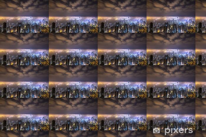 Papier peint vinyle sur mesure Ville mystérieuse - Paysages urbains