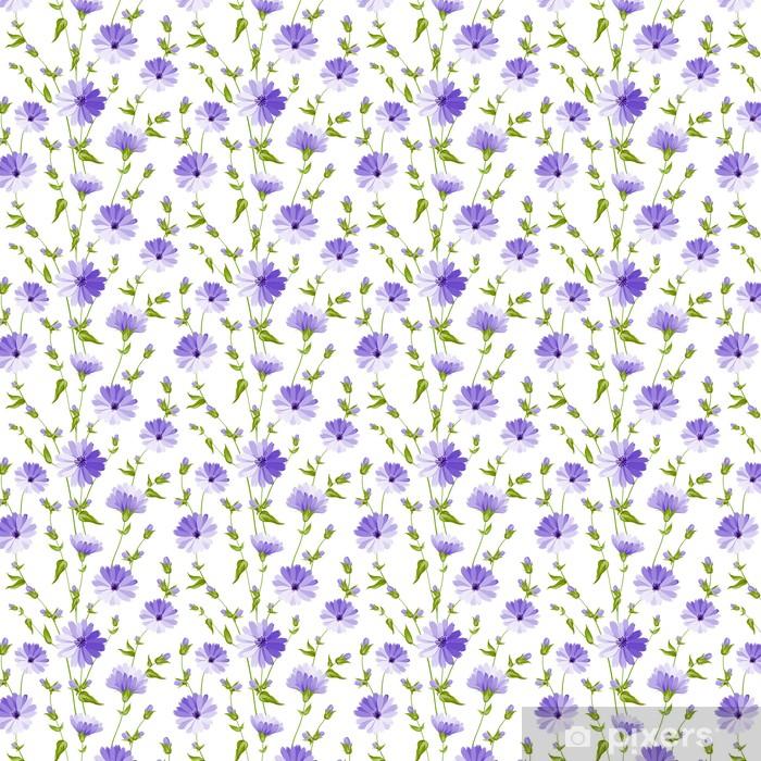 Papier peint vinyle sur mesure Transparente motif fleur - Styles