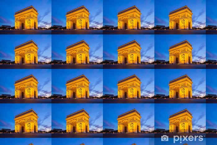 Papier peint vinyle sur mesure Arc de Triomphe, Paris - Villes européennes