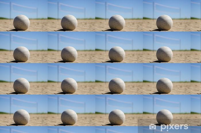 Papier peint vinyle sur mesure Beachvolley - Volley-Ball