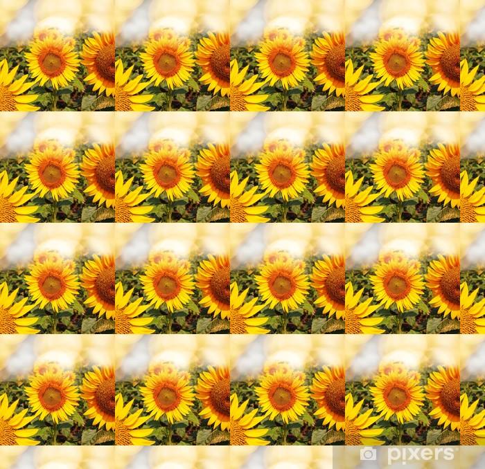 Vinyl behang, op maat gemaakt Sunflowers - Thema's