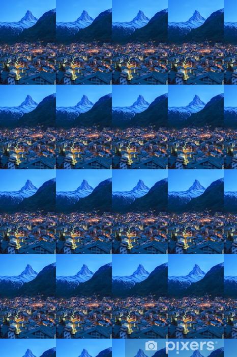 Papier peint vinyle sur mesure Zermatt, Suisse - Europe