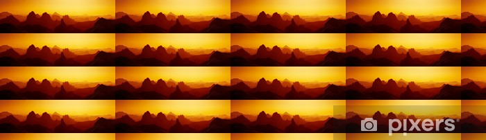 Vinylová tapeta na míru Sunrise v saharské poušti - Témata