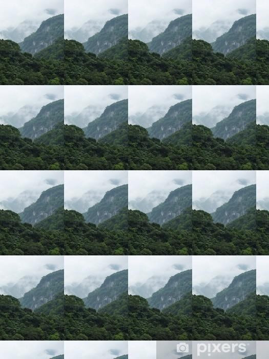 Papier peint vinyle sur mesure Taiwan Tropical Mountainscape - Asie