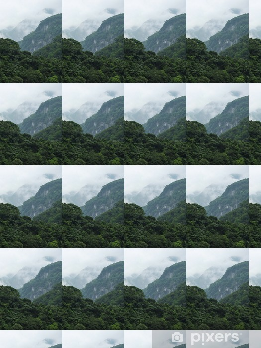 Vinyltapete nach Maß Taiwan Tropical Berglandschaft - Asien
