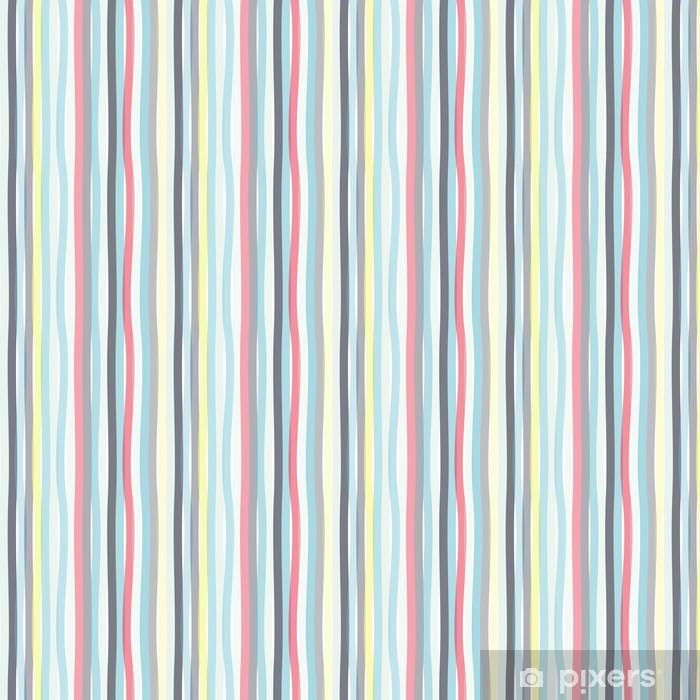 Papel pintado estándar a medida Seamless rayas de colores de fondo de onda - Temas