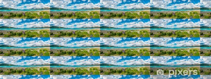 Vinyltapete nach Maß Lake Tekapo - Themen